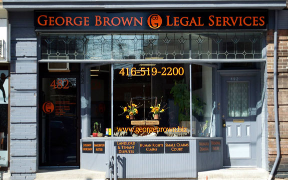 George Brown Legal Services in Toronto